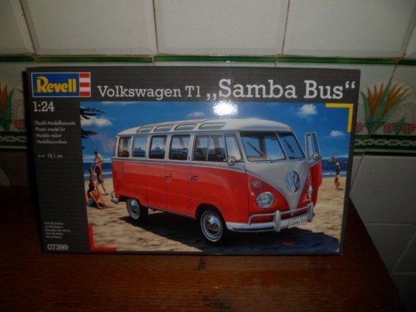 Maquette vw bus samba offerte a mes 18 ans par mon parrain