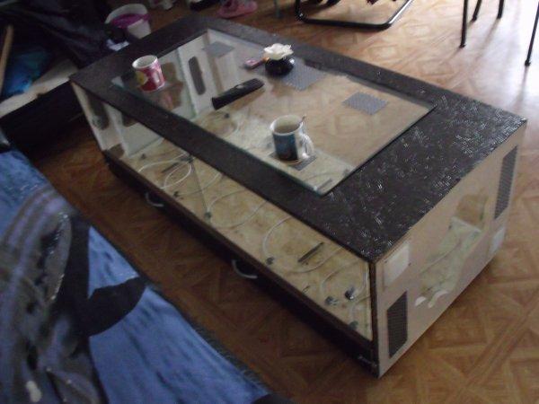 fabrication d 39 une table basse terrarium blog de elaphes. Black Bedroom Furniture Sets. Home Design Ideas