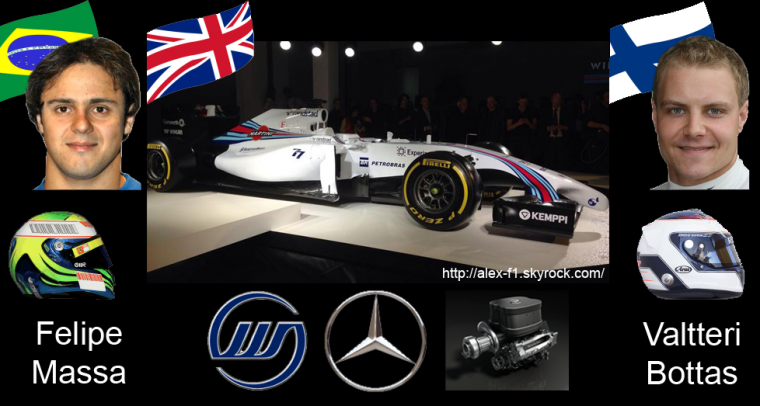 > 8] Williams FW36 Mercedes Benz