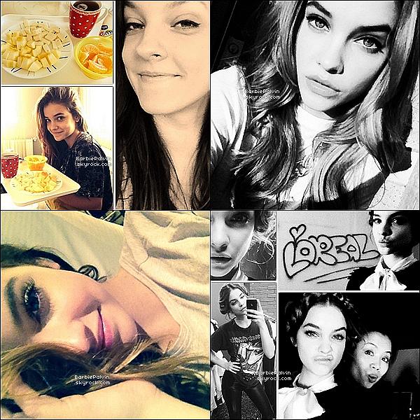 D�couvrez les nouvelles photos que Barbara a post� sur instagram !