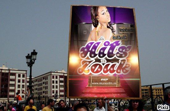 www.reunionfm.re     presente  !!les hits du zouk  !!!!!!! tout les soirs  de 18h a 19h