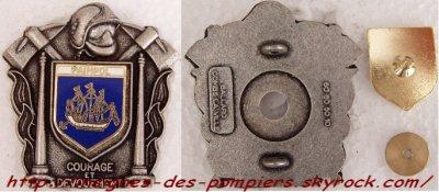 Insignes des pompiers des C�TES D'ARMOR (22)