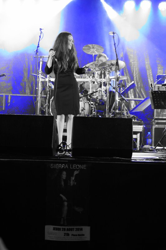 SIERRA LEONE pour cloturer la saison des concerts �t� 2014