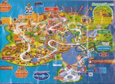 Voici le plan de port aventura blog de 59 moi 34 - Port aventura plan ...