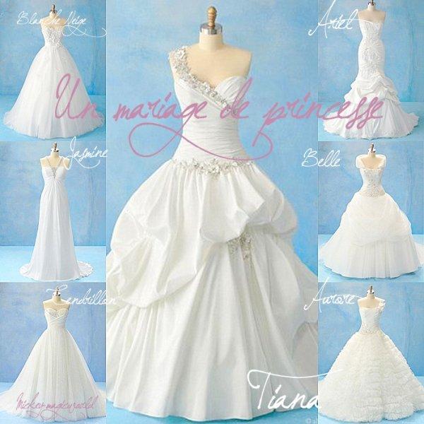 Robe de mariée: