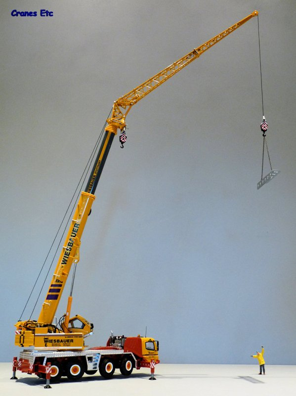 Mobile Crane Jib : Grove gmk l twh de liebherr