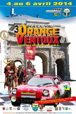 Rallye Orange Ventoux Classic 2014