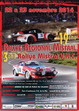 Rallye du Mistral 2014