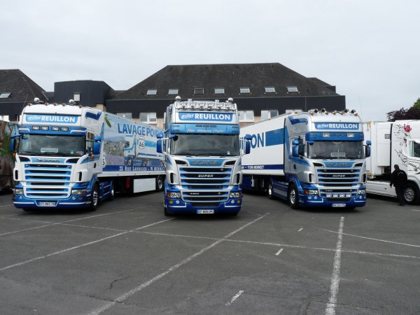 7� �dition des chtis truckers les SCANIA
