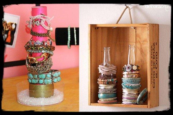 Diy id e rangement bijoux juju coco make up et mode - Rangement bijoux diy ...
