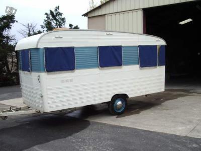 Digue Baronette 1967 Caravane Ancienne De Collection