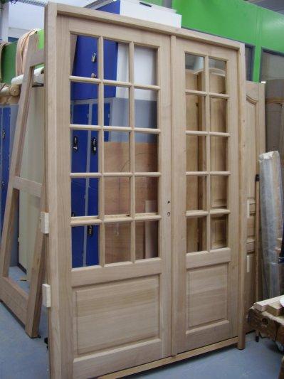 porte d int 233 rieur 224 2 vantaux et petits bois de formationbois