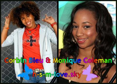 corbin bleu and monique coleman relationship poems