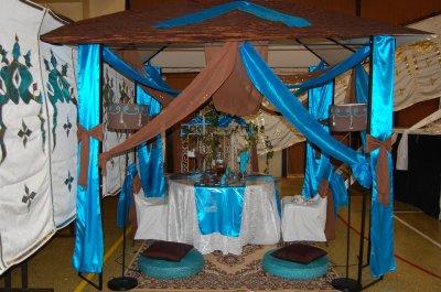 Decoration chocolat turquoise blog organisateur de mariage - Deco table turquoise chocolat ...