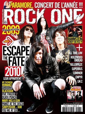 AMNESIA dans le rock one n�61
