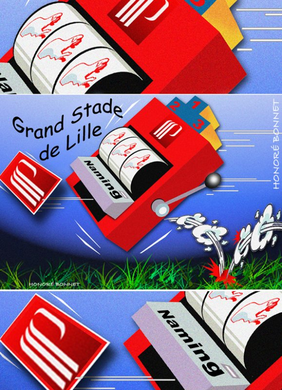 """Sp�cial """"NAMING V�lodrome OM/Grand Stade Lille"""" Image n� 1/3 !..."""
