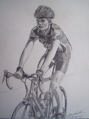 Cycliste portraits et dessins - Cycliste dessin ...
