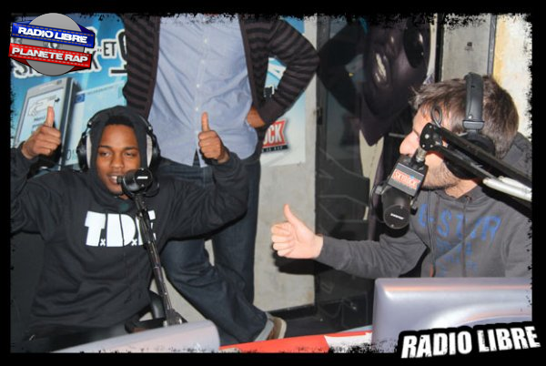 Kendrick lamar dans la radio libre 1000 - Kendrick lamar swimming pools radio edit ...