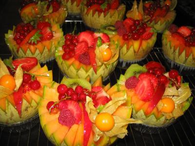 dessert melons fruits quot gourmandises delices quot