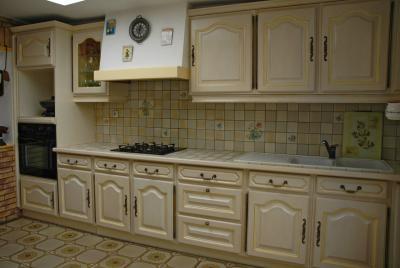 Cuisine quip e relook e amphora artisan meubles peints - Cuisine relookee photos ...