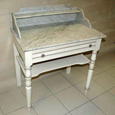 Table de toilette relook e amphora artisan meubles peints relooking - Auto entrepreneur relooking meuble ...