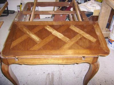 Table rectangulaire style r gence avant amphora artisan meubles peints relooking - Auto entrepreneur relooking meuble ...