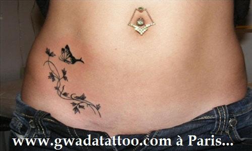 fleur papillon blog de tatouage. Black Bedroom Furniture Sets. Home Design Ideas