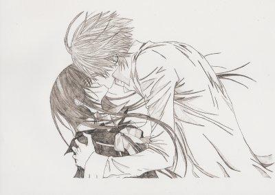 Vampire knight dessins de manga - Dessin manga amoureux ...