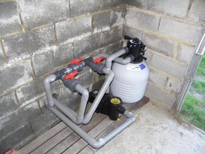 Installation pompe et filtre bypass construction for Installation pompe piscine