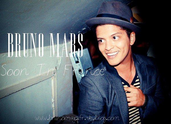 Lancement du book pour Bruno Mars