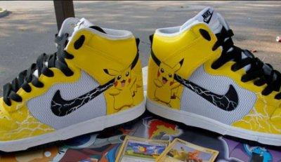 0d6d4459405b4 Custom Nike Dunk High Pikachu