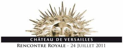 Rencontre royale � Versailles !