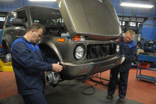 VIS-Avto a officiellement entam� la production de la LADA 4x4 Urban !!!