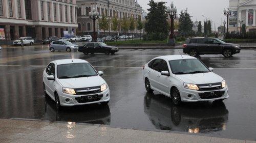 Deux LADA GRANTA Liftback Sport en primeur pour le Pr�sident du Tatarstan !!!