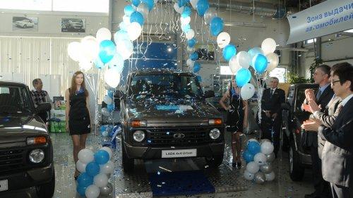 Les ventes de la LADA 4x4 Urban d�marrent officiellement � 402.000 roubles !!!