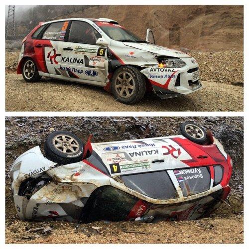 Rallye d'Ingouchie : derni�re sortie de l'ann�e dans la douleur pour les LADA...