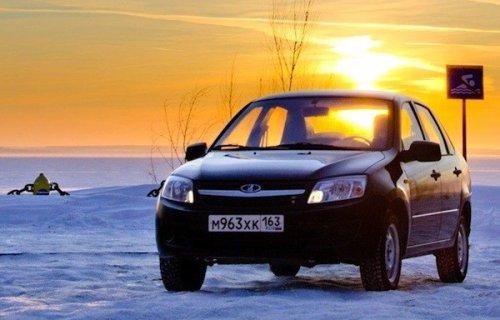 La LADA GRANTA Sedan devient la voiture la moins ch�re de Russie !!!