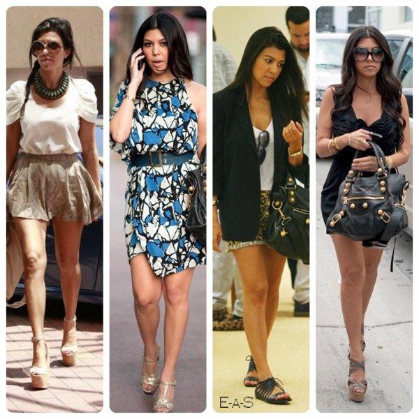 Candids Coup De Pour Le Style Vestimentaire De Kourtney Ton Blog People Number One