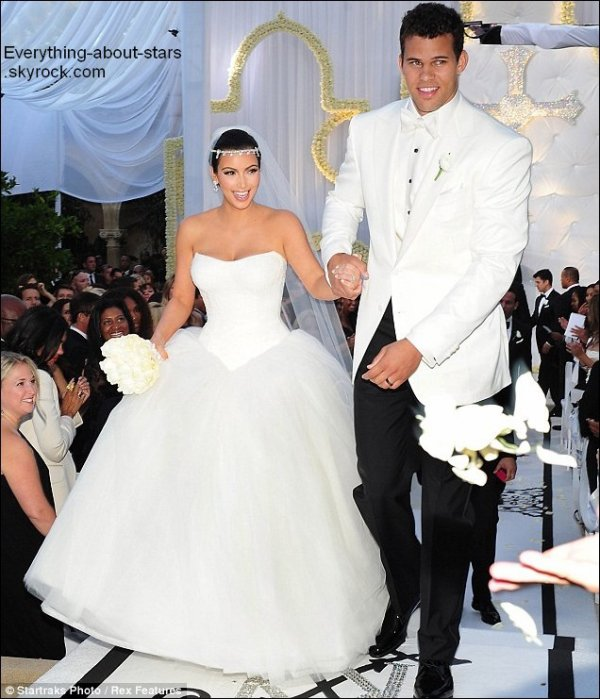 Kim Kardashian Mariage Mariage de Kim Kardashian