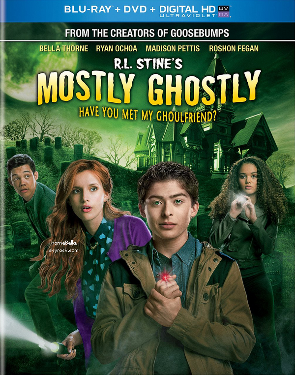 D�couvrez l'affiche + le trailer de Mostly Ghostly: Have You Met My Ghoulfriend?