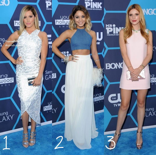 YOUNG HOLLYWOOD AWARDS       * Elles ont assist� aux Young Hollywood Awards, mais qui �tait la mieux habill�e?   *