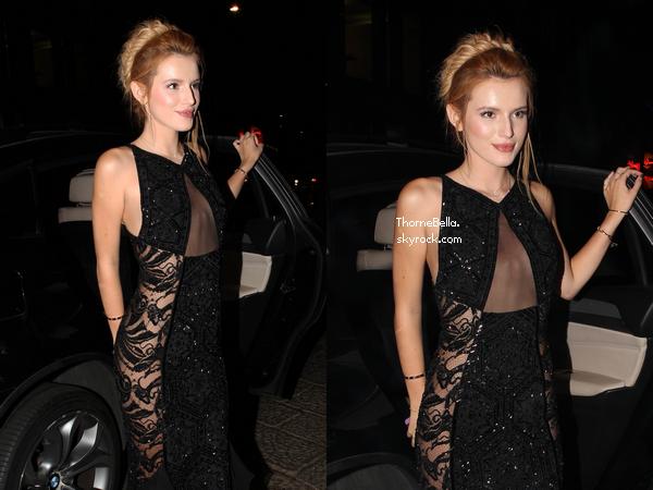 Bella au Gala AmFAR � Milan le 20 septembre.