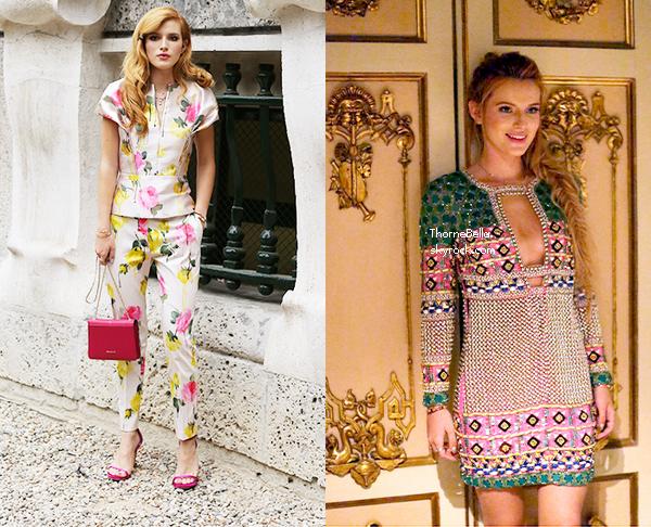 Teen Vogue a suivi Bella et son styliste lors de la fashion week de Milan.