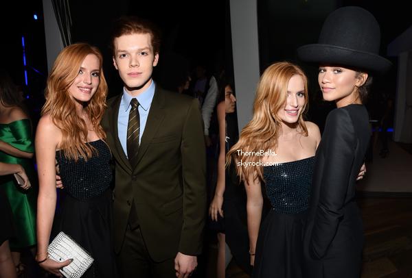 Bella a �t� � la soir�e organis�e par Teen Vogue le 26 septembre.