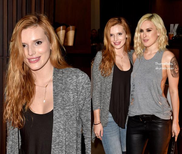 Bella �tait pr�sente � la soir�e des KDB's Spring Collection le 16 octobre 2014.