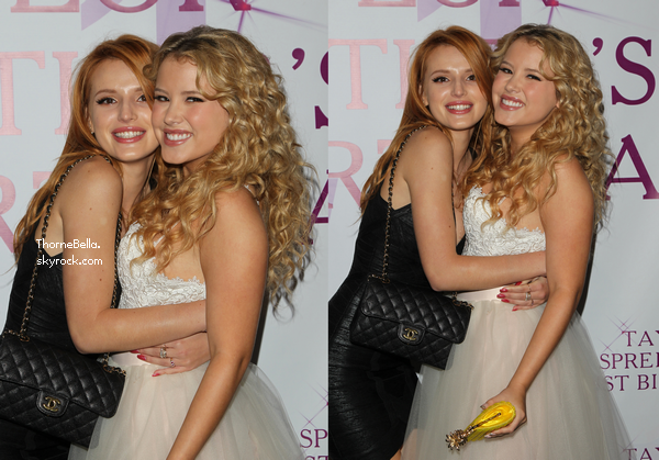 Bella au 21�me anniversaire de Taylor Spreitler le 25 octobre 2014.