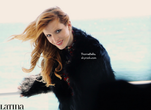 Bella en couverture du magazine Latina de d�cembre et janvier. Que pensez-vous de ce nouveau shoot?