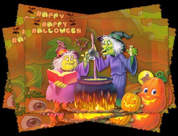 Bonne f�te d' Halloween � tous les enfants du monde