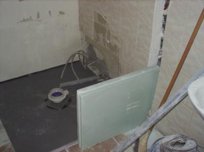 Blog de blackthetys vive le chantier - Faire une douche italienne ...