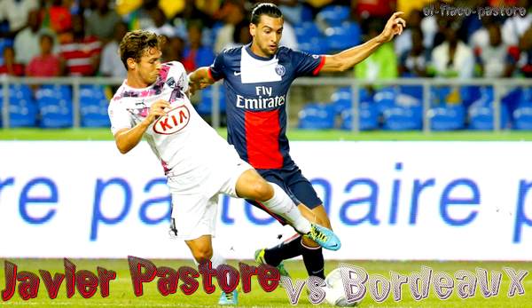 Troph�e des Champions, Paris Saint-Germain - Bordeaux : 2-1 (0-1)